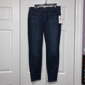 """7 For All Mankind """"The Skinny"""" Jeans Size 32 NWT"""